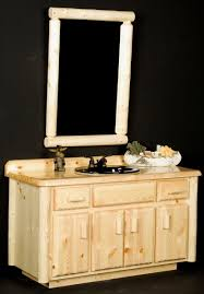 Rustic Cabin Bathroom - log bathroom vanities rustic cabin bathroom vanities