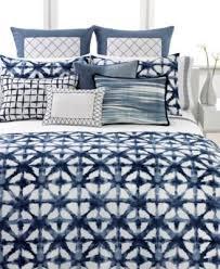 amazon com vera wang shibori indigo blue white king duvet cover