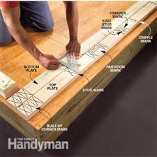 how to frame a floor wall framing tips for new construction family handyman