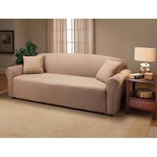 slipcovers for pillow back sofas amusing couch back pillows tan slub tweed covers side view showing