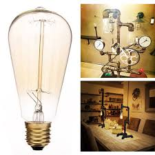 old style light bulbs e27 60w st64 vintage retro light bulb incandescent edison old