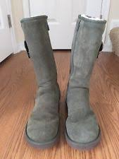 s green ugg boots boots in brand ugg australia heel height flat 0 to 1 2 in