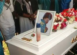 gospel singer who died in road accident laid to rest u2013 photo