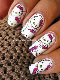20 cute hello kitty nail art designs page 6 of 20 beautyhihi