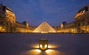 louvre museum at sunset wallpapers 50 very beautiful the louvre museum paris pictures and images