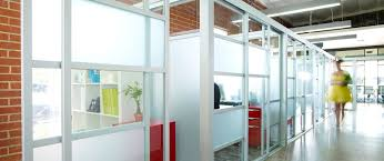 Glass Wall Design office partition walls glass office cubicles enclosures