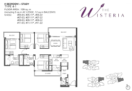 4 bedroom study the wisteria