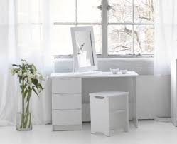 white makeup vanity table furniture uncluttered modern white makeup vanity featuring single