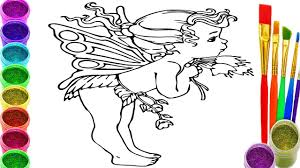 baby angel coloring pages angel baby drawing and colouring book