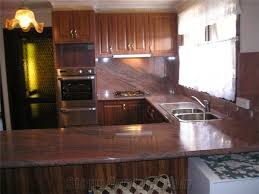 multicolor red granite kitchen benchtop and design from australia