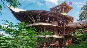 sustainable bamboo homes in bali by elora hardy youtube