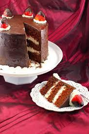 wine chocolate wine strawberry chocolate fudge cake food meanderings