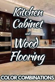 what floor goes best with white cabinets 24 gorgeous kitchen cabinet and wood floor color