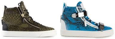 italien design schuhe giuseppe zanotti sneaker für herren damen high top designer