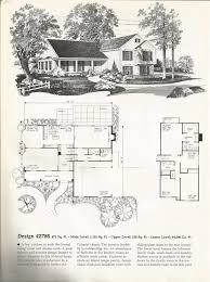 tri level home vintage house plans colonial tri level home antique alter ego