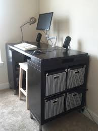 Cheap Standing Desk Ikea by Small Standing Desk Ikea Decorative Desk Decoration