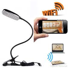 remote audio video lighting wi fi hidden camera desk l 1080p full hd 2 way audio motion