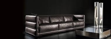 Gamma Leather Sofa by Wafer Sofa Gamma International Italy Neo Furniture