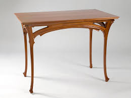 henri sauvage french art nouveau table writing table french art