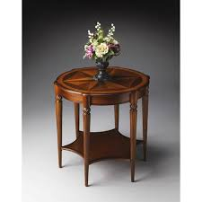 Oval Accent Table Butler Specialty Company Accent Tables Bellacor
