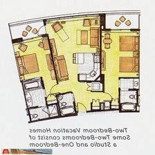 disney bay lake tower floor plan floor plan one bedroom villa bay lake tower from yourfirstvisit
