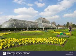Royal Botanic Gardens Kew by Palm House In Spring Royal Botanic Gardens Kew Unesco World
