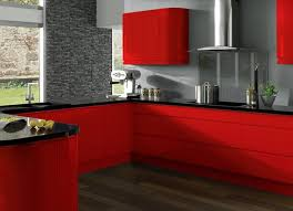 Red And Black Kitchen Ideas 15 Best Kitchen Reds Images On Pinterest Dream Kitchens