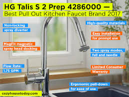best pull out kitchen faucet best pull out kitchen faucet oct 2017 buying guide