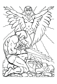 coloring pages fascinating he man coloring pages pixels pacman