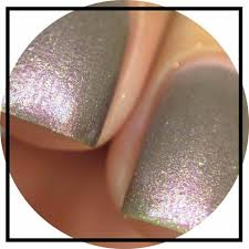 can u0027t put my finger on it holographic copper nail polish u2013 shine