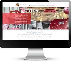 case study alumni classroom furniture web design development
