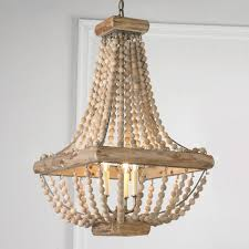 wood bead ceiling light beaded chandeliers reveal their charm and versatility wood bead