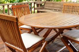 fall patio furniture cleaning
