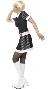 1960s mod chic fancy dress costume bq032751 23 49