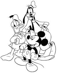 mickey mouse coloring pages 2 coloring pages print