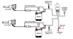 exciting hid light relay wiring diagram hid conversion xenon light