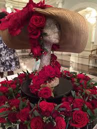 Kentucky Derby Flowers - kentucky derby themed gala entrance centerpiece imevents inc