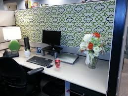 Wallpaper For Cubicle Walls by Add Fresh Flowers And Use Wallpaper Of Wrapping Paper As The