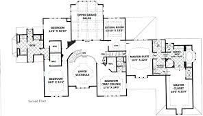 floor plans mansions second floor plan blueprints homes mansion