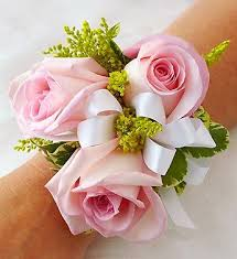 Corsage Flowers Pale Pink Rose Corsage Flowers By Steen