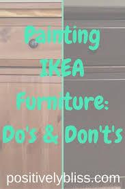 Ikea Furniture by Best 25 Painting Ikea Furniture Ideas On Pinterest Paint Ikea