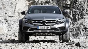 jeep wagon mercedes mercedes benz unveils new e class all terrain 4 luxury wagon the