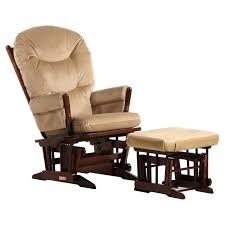 Upholstered Rocking Chair With Ottoman Ottomans Replacement Cushions For Glider Rocker Walmart Rocking In