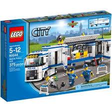 legos walmart black friday lego city police mobile police unit building set walmart com