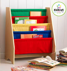 amazon com kidkraft sling bookshelf primary toys u0026 games