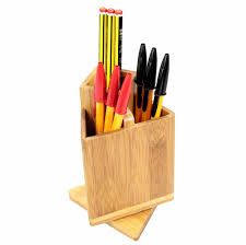 Desk Pencil Holder Bamboo Pencil Holder Bamboo Pencil Holder Suppliers And