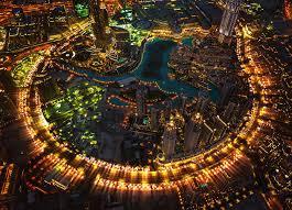 united arab emirates town dubai dubai burj khalifa lights night hd