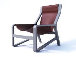 Blu Dot Furniture by Bludot Toro Lounge Chair 3d Model Cgtrader