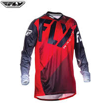fly motocross jersey fly 2017 lite hydrogen jersey red