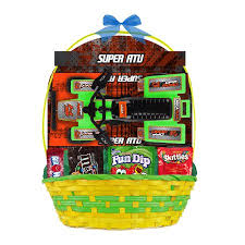 pre made easter baskets for kids easter basket with atv vehicle candies item or color may vary